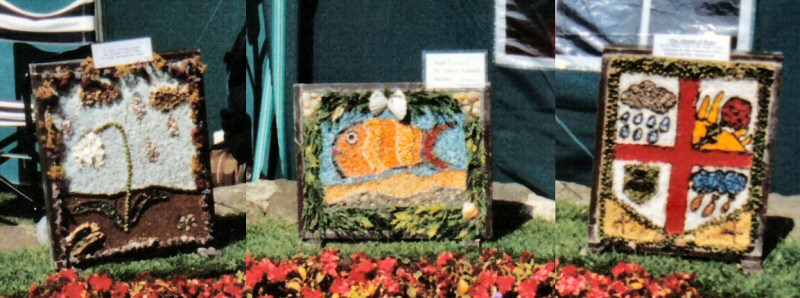 Belper 2002 - St John's CE Primary School Well Dressing (5 - 7)