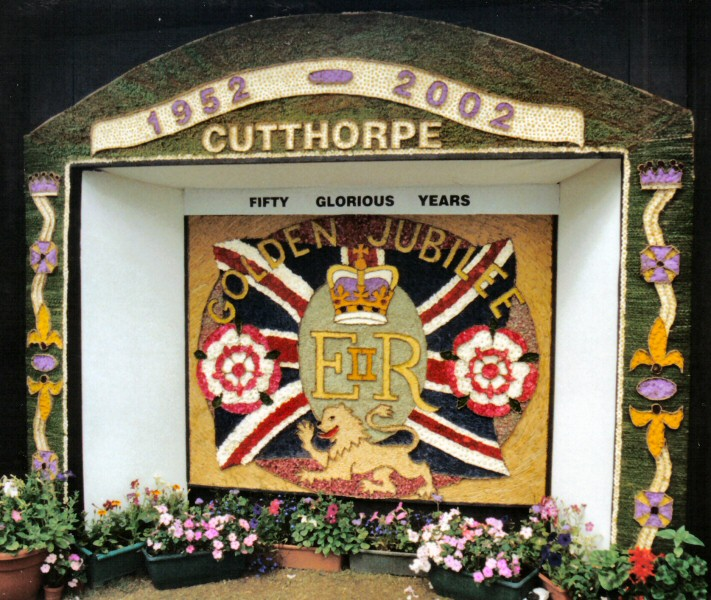 Cutthorpe 2002 - Village Well Dressing
