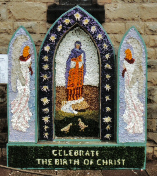 Bolsover 2002 - Methodist Church Well Dressing