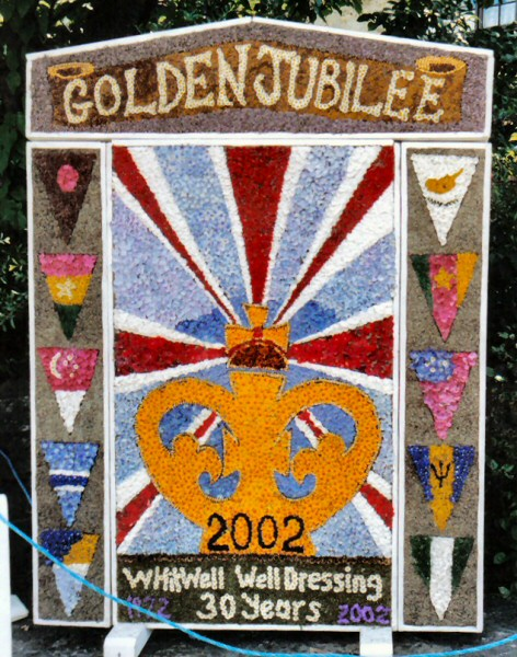 Whitwell 2002 - Village Square Well Dressing