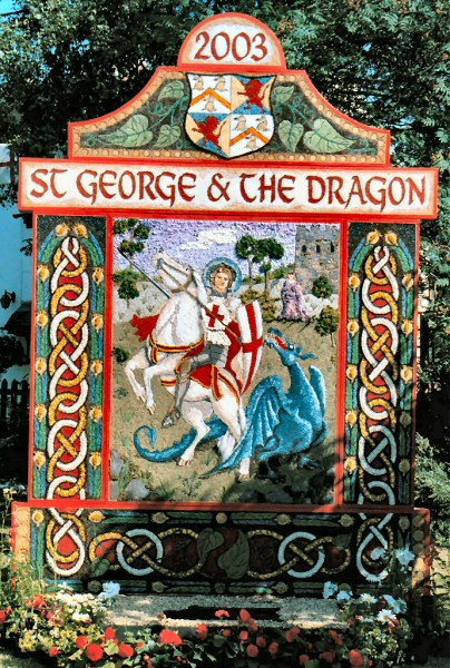 Aston-upon-Trent 2003 - Main Well Dressing
