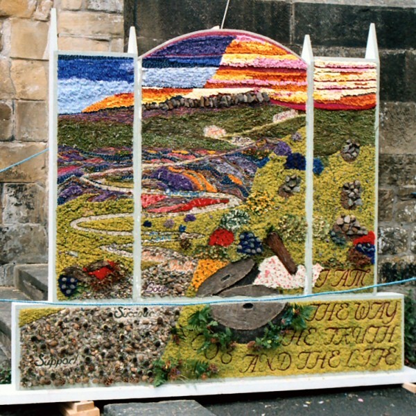 Bakewell 2003 - Butter Market Well Dressing