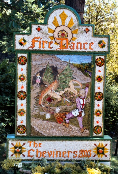 Belper 2003 - Cheviners' Well Dressing