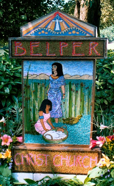 Belper 2003 - Christ Church Well Dressing