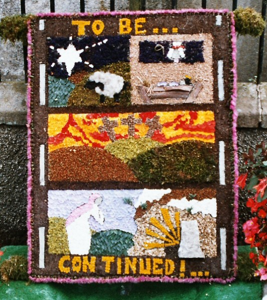 Bonsall 2003 - Wesleyan Chapel Well Dressing