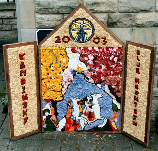 Chapel-en-le-Frith 2003 - Methodist Church Well Dressing