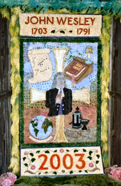 Chesterfield 2003 - Methodist Church Well Dressing
