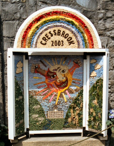 Cressbrook 2003 - Cressbrook Mill Well Dressing