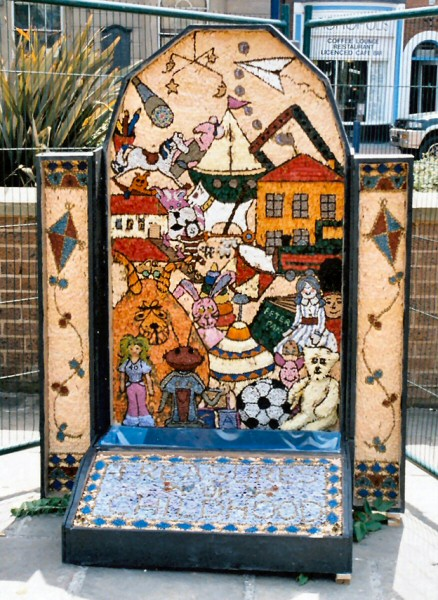 Derby 2003 - Market Place Well Dressing