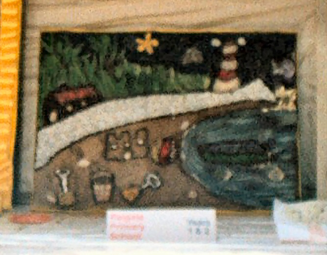 Derby 2003 - Reigate Primary School Years 1 &amp 2 Well Dressing