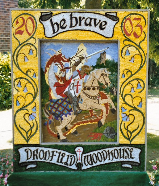 Dronfield Woodhouse 2003 - Main Well Dressing