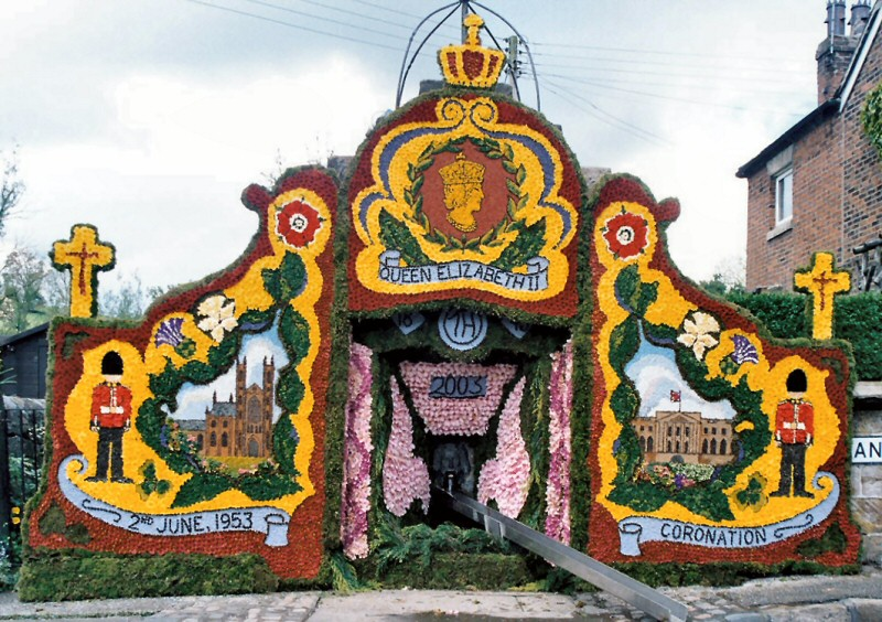 Endon 2003 - Village Fountain Well Dressing