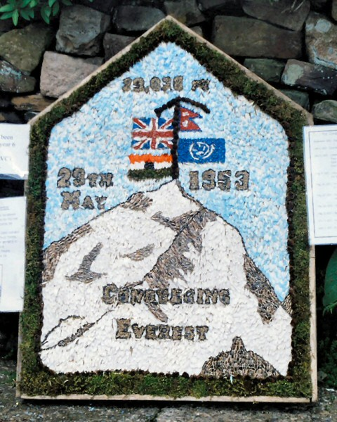 Endon 2003 - St Luke's CE Primary School Well Dressing