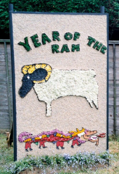 Etwall 2003 - Scouts Well Dressing
