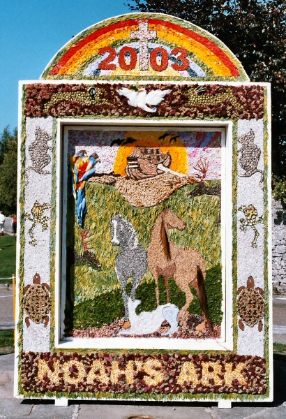 Hartington 2003 - Main Well Dressing