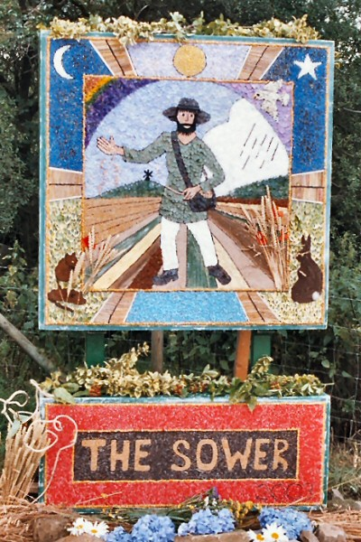 Heage 2003 - Windmill Well Dressing