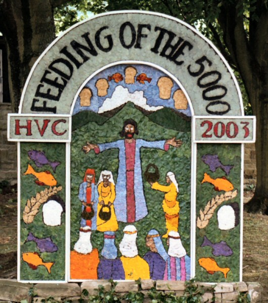 Hope 2003 - Hope Valley College Well Dressing
