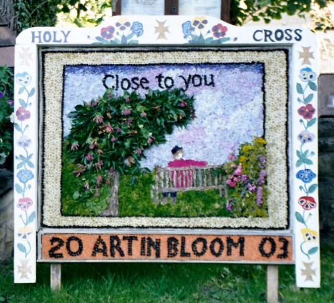 Upper Langwith 2003 - Langwith Residents Well Dressing