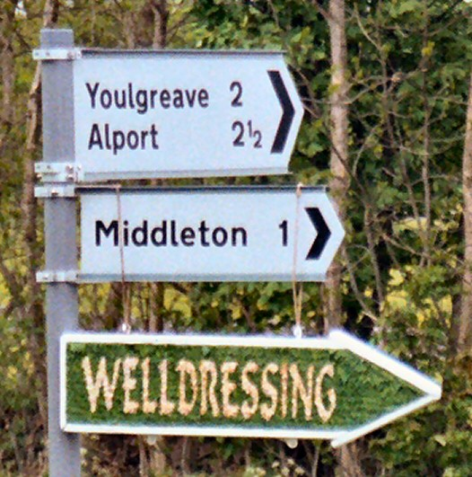 Middleton by Youlgrave 2003 - Fingerboard, north of village