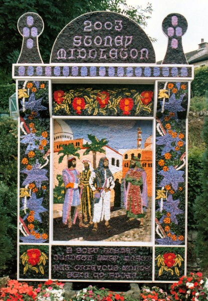 Stoney Middleton 2003 - Main Well Dressing