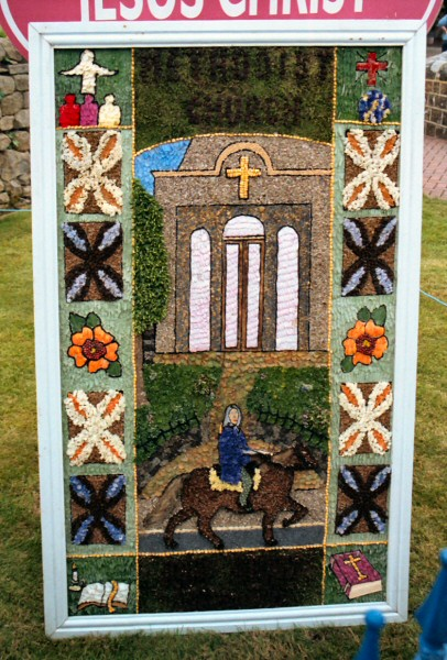 Tansley 2003 - Methodist Church Well Dressing