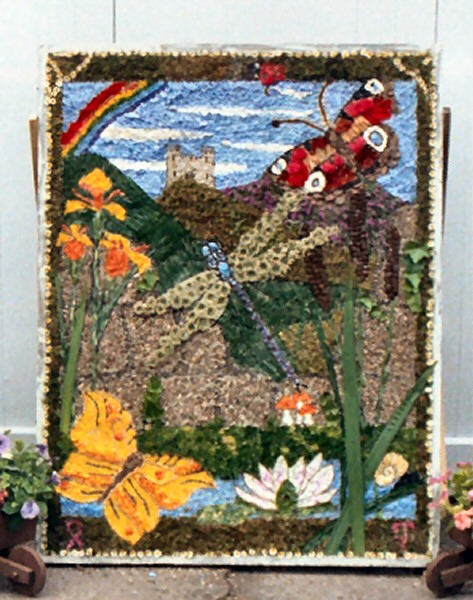 Tansley 2003 - Church Street Well Dressing
