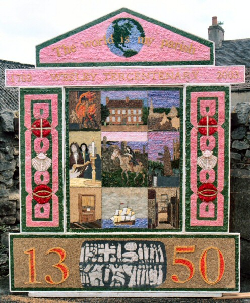 Wirksworth 2003 - Methodist Church Well Dressing