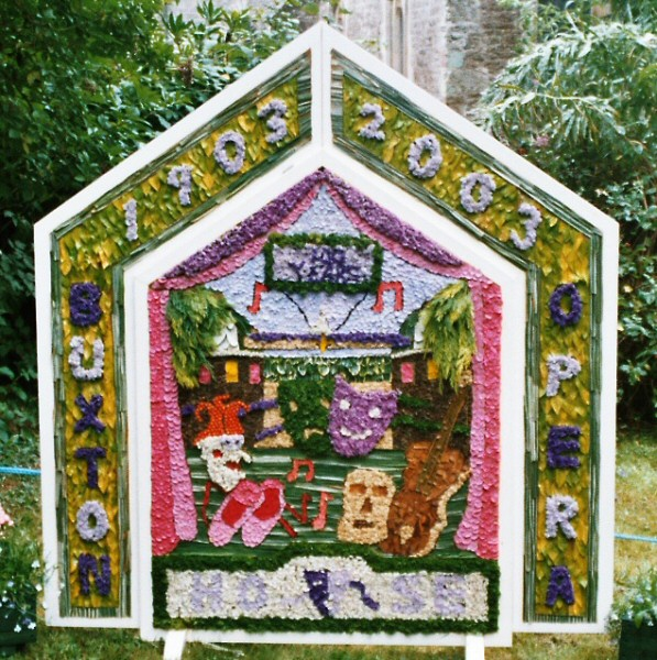 Wormhill 2003 - Children's Well Dressing