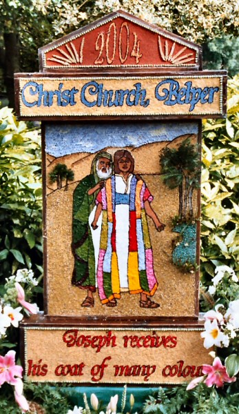 Belper 2004 - Christ Church Well Dressing
