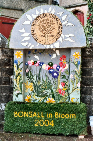 Bonsall 2004 - Clatterway Well Dressing
