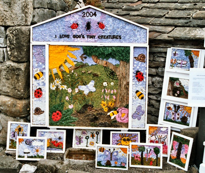 Bradwell 2004 - Children's Well Dressing