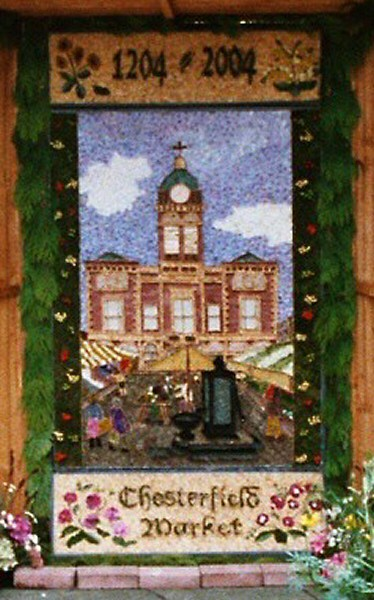 Chesterfield 2004 - Methodist Church Well Dressing