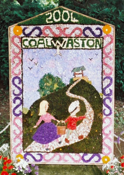 Coal Aston 2004 - Women's Institute Well Dressing