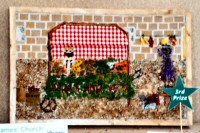 St James' CE Junior School Years 5 & 6 Well Dressing
