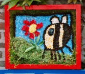 Moorland Nursery School Well Dressing