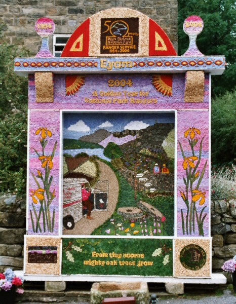 Eyam 2004 - Town Head Well Dressing