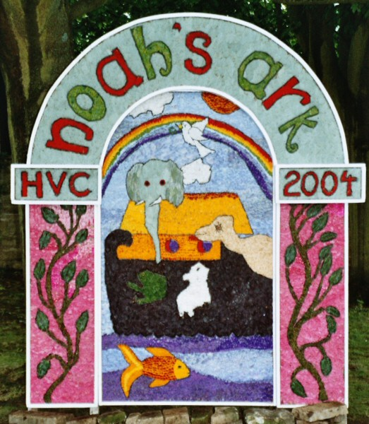 Hope 2004 - Hope Valley College Well Dressing