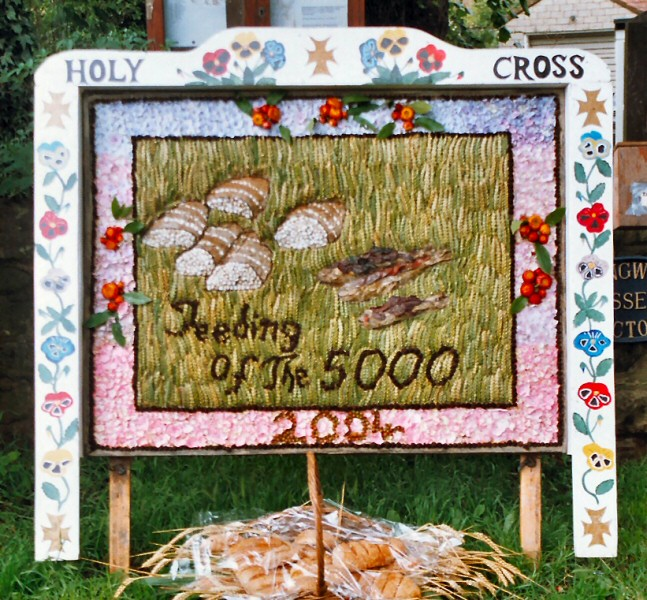 Upper Langwith 2004 - Langwith Residents Well Dressing