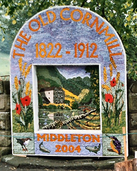 Middleton by Youlgrave 2004 - Village Well Dressing