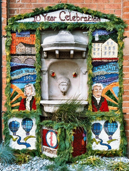 Ripley 2004 - Town Hall Well Dressing
