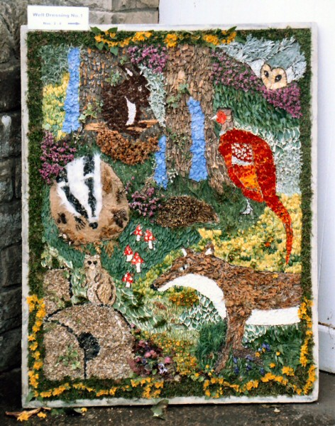 Tansley 2004 - Church Street Well Dressing