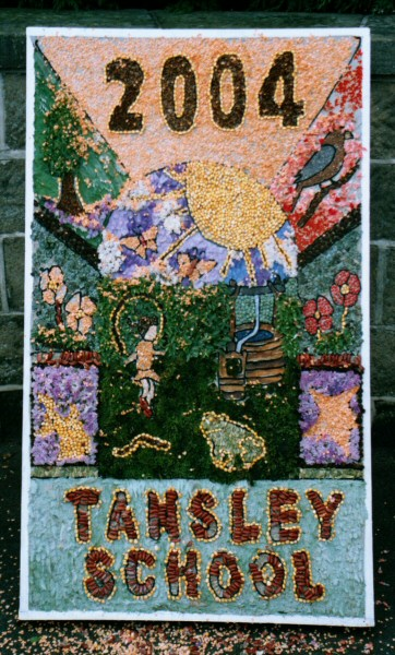 Tansley 2004 - Old Rectory Well Dressing