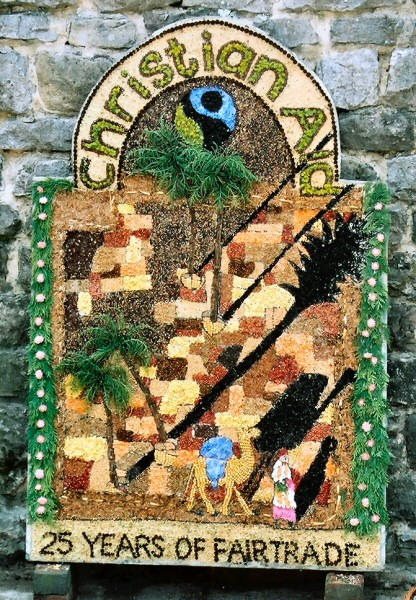 Wirksworth 2004 - Christian Aid Well Dressing
