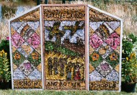 Hunloke Garden Well Dressing