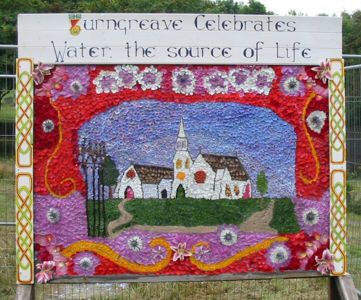 Burngreave Cemetery 2005 - Well Dressing