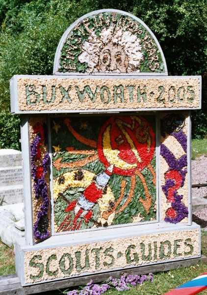Buxworth 2005 - St James' Church Well Dressing