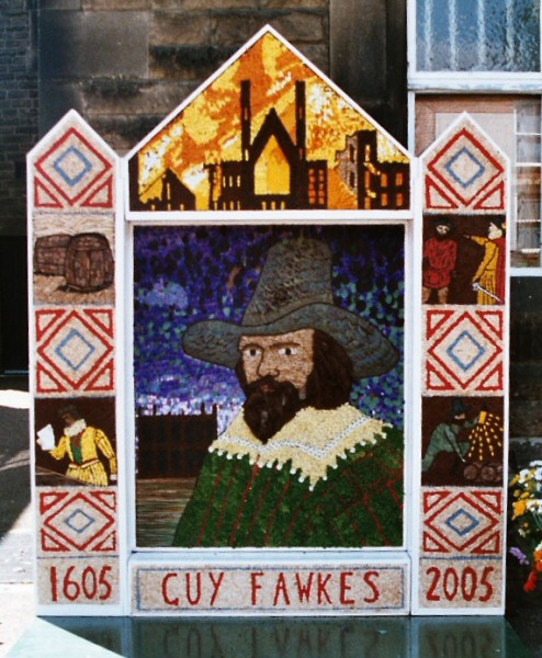 Chapel-en-le-Frith 2005 - Town Well Dressing