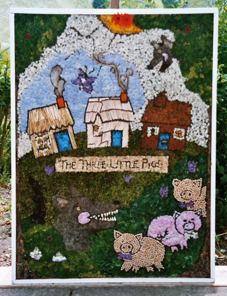 Cressbrook 2005 - Children's Well Dressing