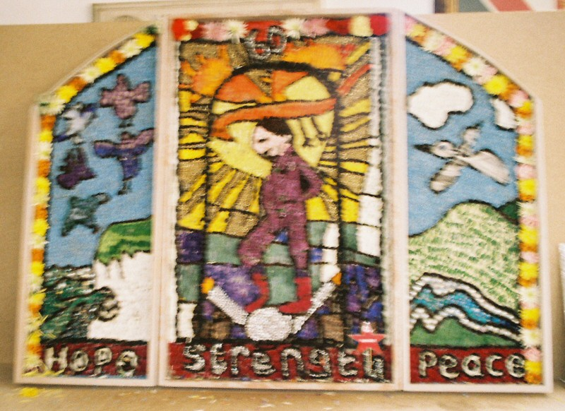 Derby 2005 - St Andrew's Special School Well Dressing