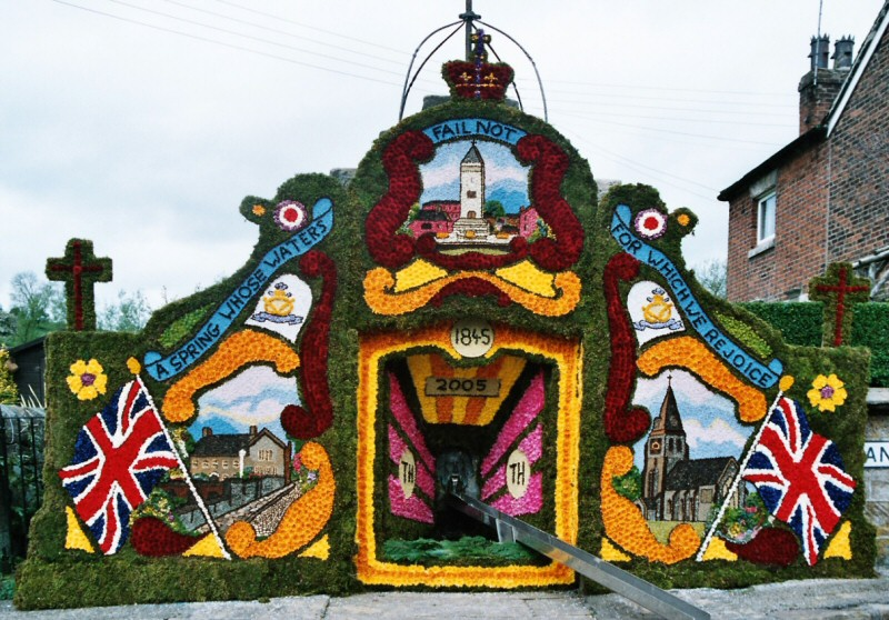 Endon 2005 - Village Fountain Well Dressing